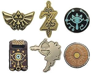 カプセル ゼルダの伝説 ブレス オブ ザ ワイルド ピンバッジコレクション全6種セット
