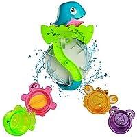 Bath Toy Play Set Waterwheel Toy Bathtub Water Game for Children Kids Bath Time Great Fun 3 Years Old [並行輸入品]