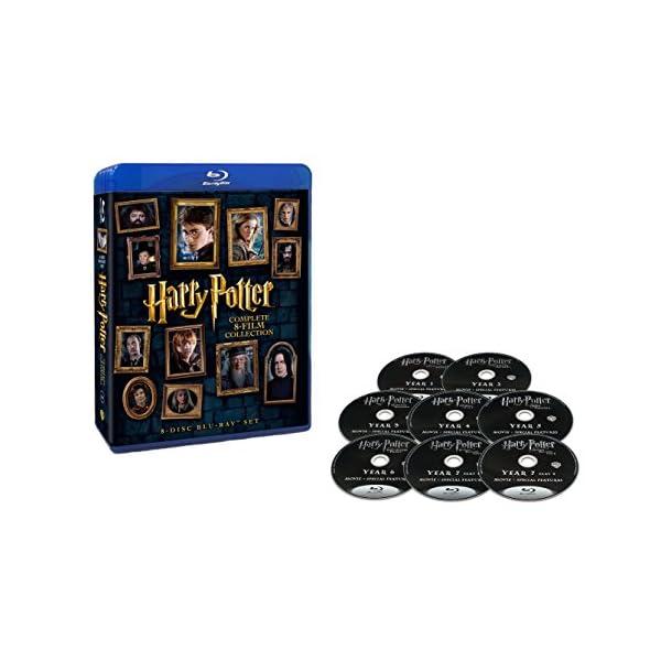 ハリー・ポッター 8-Film ブルーレイセット...の商品画像