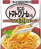 キユーピー あえるパスタソース カニのトマトクリームソース (70g×2P)×6個