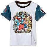 [バンダイ] 仮面ライダービルドプリントTシャツ ボーイズ AR-2413407 ブルー 日本 120cm (日本サイズ120 相当)