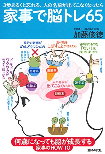 家事で脳トレ65―何歳になっても脳が成長する家事のHOW TOの詳細を見る