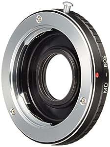 K&F Concept レンズマウントアダプター KF-SREF (ミノルタMD・MC│SRマウントレンズ → キャノンEFマウント変換)無限遠補正レンズ付き