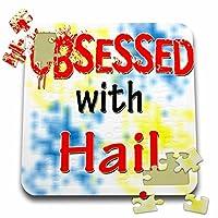 ブロンドDesigns Obsessed with–Obsessed with Hail–10x 10インチパズル( P。_ 241648_ 2)