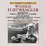 ベートーヴェン:ヴァイオリン協奏曲/メンデルスゾーン:「真夏の夜の夢」序曲、序曲「フィンガルの洞窟」