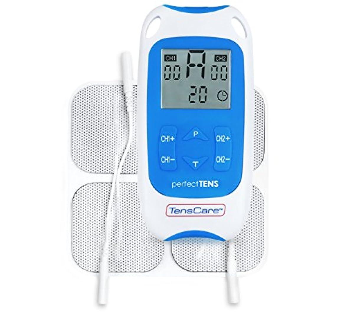 適度な知恵毎月TensCare Perfect TENS Pain Relief Machine - 痛み緩和マシン