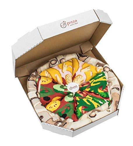 Pizza Socks Box SOCKSHOSIERY レディース