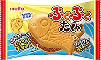 名糖産業 ぷくぷくたい エアインチョコ 1個×10袋