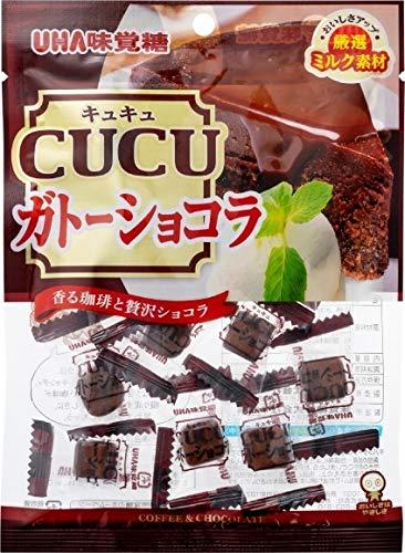味覚糖 CUCU ガトーショコラ 80g×4袋