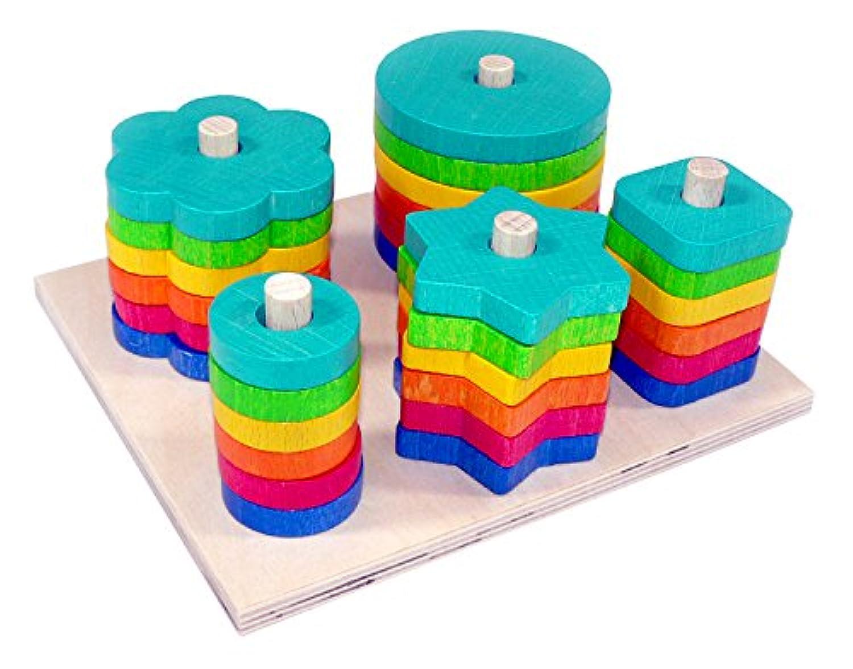 Hess木製幼児用Toy Shape Sortingゲーム