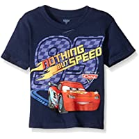 Disney Little Boys' Toddler Cars Nothing But Speed Short Sleeve T-Shirt