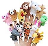 知能・五感 を育てる 指人形 12支セット 布製 知育玩具 フィンガー パペット