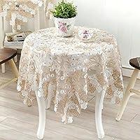 コーヒーテーブル テーブルクロス ヨーロッパ ナイトテーブル レース 食卓 円卓 テーブル掛け おしゃれ おすすめ 85*85cm 全18サイズ EBODONG