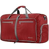 Gonex 60L Packable Travel Duffle Bag, Lightweight Water Repellent & Tear Resistant 14 Color Choices
