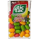 Tic Tac Fruit Adventure Mints, 24 x 24 Grams
