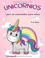 Libro de actividades de unicornios:: para niños de 4 a 8 años - Volumen 2 (Libro de actividades de unicornios: para niños de 4 a 8 años)