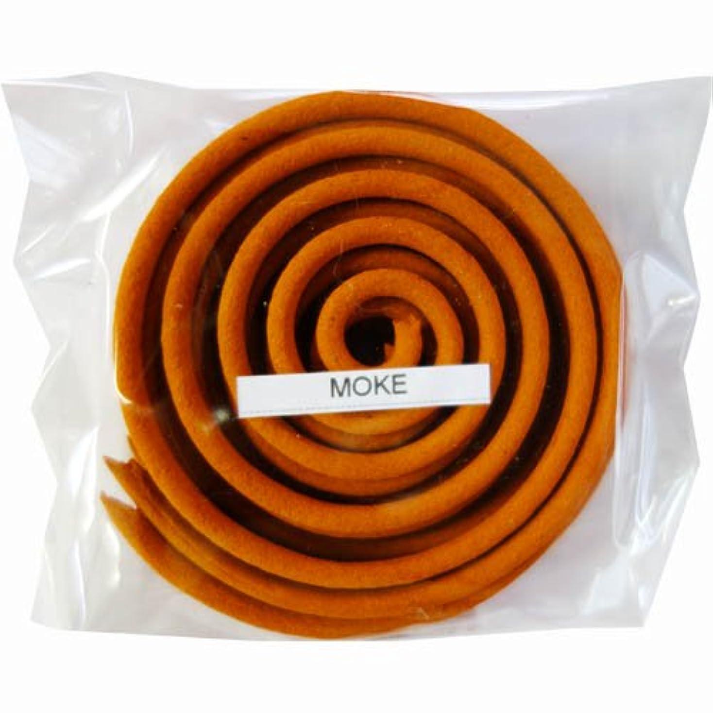 立ち寄るナプキンさわやかお香/うずまき香 MOKE モーク 直径6.5cm×5巻セット [並行輸入品]
