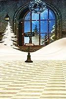 クリスマステーマビデオスタジオ背景コンピュータ印刷写真背景写真バックドロップCP _ g-021