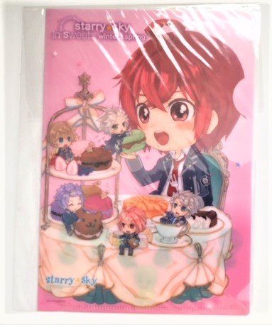 Starry Sky in sweets winter&spring ミニクリアファイル