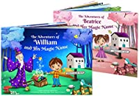 Personalised Children's Story Book - Every Book is Unique and Custom Made - Perfect Gift for Kids - HARDBACK