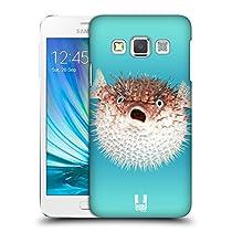Head Case Designs ハリセンボン フェイマス・アニマルズ ハードバックケース Samsung Galaxy A3