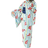 (キャサリンコテージ) Catherine Cottage 浴衣 着物 女の子 TM1033 ジュニア・レディース浴衣セット[ゆかた/シワ兵児帯]