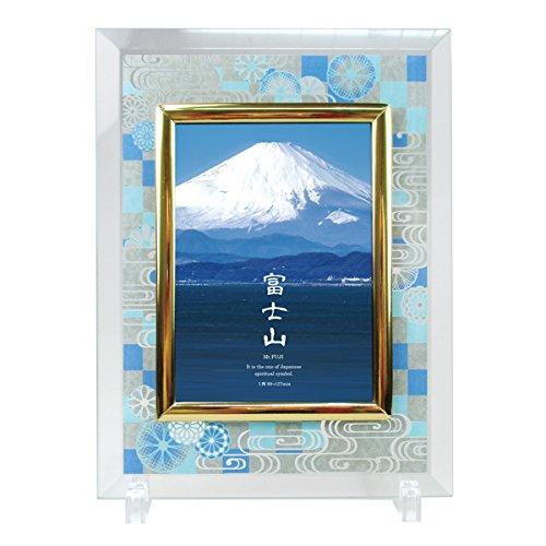 和柄 クリスタル フォトフレーム 富士山 CF-2500