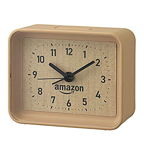 【プライムデー記念発売】リズム時計 段ボール風目覚まし時計 4SE555AZ06