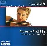 Ysaye: Six Sonates Op. 27, 'Au rouet' Op. 13 by Fontanarosa (2013-07-30)