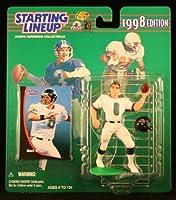 MARK BRUNELL / JACKSONVILLE JAGUARS 1998 NFL Starting Lineup Action Figure & Exclusive NFL Collector Trading Card by Kenner [並行輸入品]