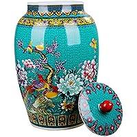 シリアルコンテナ 封印された缶陶器の貯蔵瓶ピクルスキムチジャーキッチン購入箱キャンディジャー コンテナ (サイズ さいず : 56 cm 56 cm)