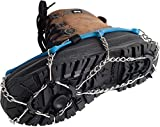 Veriga Icetrack Crampons Ice Traction Cleats Large (41-45 EU) [並行輸入品]