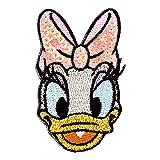ミノダ ディズニー デイジー スパンコール刺繍デコシール DISNEY DAISY DUCK D01R8819