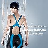 レディース ミディアム MIZUNO(ミズノ) レース用競泳水着 レディース ストリームアクセラ XS~XL サイズ ミディアムカット FINA承認 N2MA8222