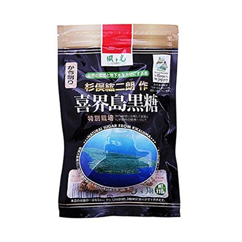 風と光 喜界島黒糖かち割り特別栽培 110g