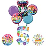Mayflower Products ビーニーブーズ 5歳の誕生日パーティー用品 バルーンブーケデコレーション