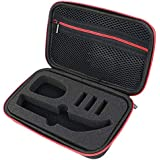 SODIAL Portable Hard Travel Carrying Case Waterproof Shackproof Storage Bag Eva Protective Case for Hybrid Electric Trimmer Shaver Oneblade Pro Qp150/Qp6520/Qp6510