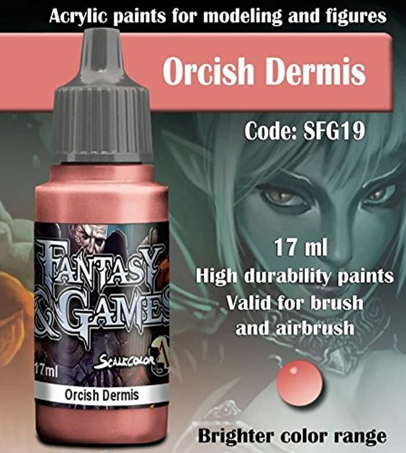 Scale 75 Fantasy and Games Orcish Dermis 17ml