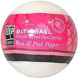 Treets Rose & Pink Pepper Bath Ball 180g (Pack of 6) - Treetsローズ&ピンクペッパーバスボール180グラム (x6) [並行輸入品]