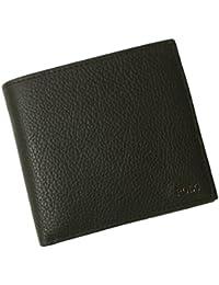 (ラルフローレン) RALPH LAUREN 財布 メンズ 二つ折 (ブラック) 405656388001 RL-451 [並行輸入品]