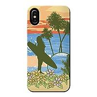 (ティアラ) Tiara Android One 507SH ケース サーフィン ボード SURF 海 薄型 スマホ ハードケース サーフ A SHARP C016902_01