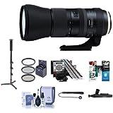 Tamron SP 150–600mm F / 5–6.3Di VC USD g2レンズfor Nikon DSLRs–Bundle with 95mmフィルタキット、クリーニングキット、Lenspenレンズクリーナー、Capleash、LensAlign MkIIフォーカス調整、一脚、ソフトウェアパッケージ