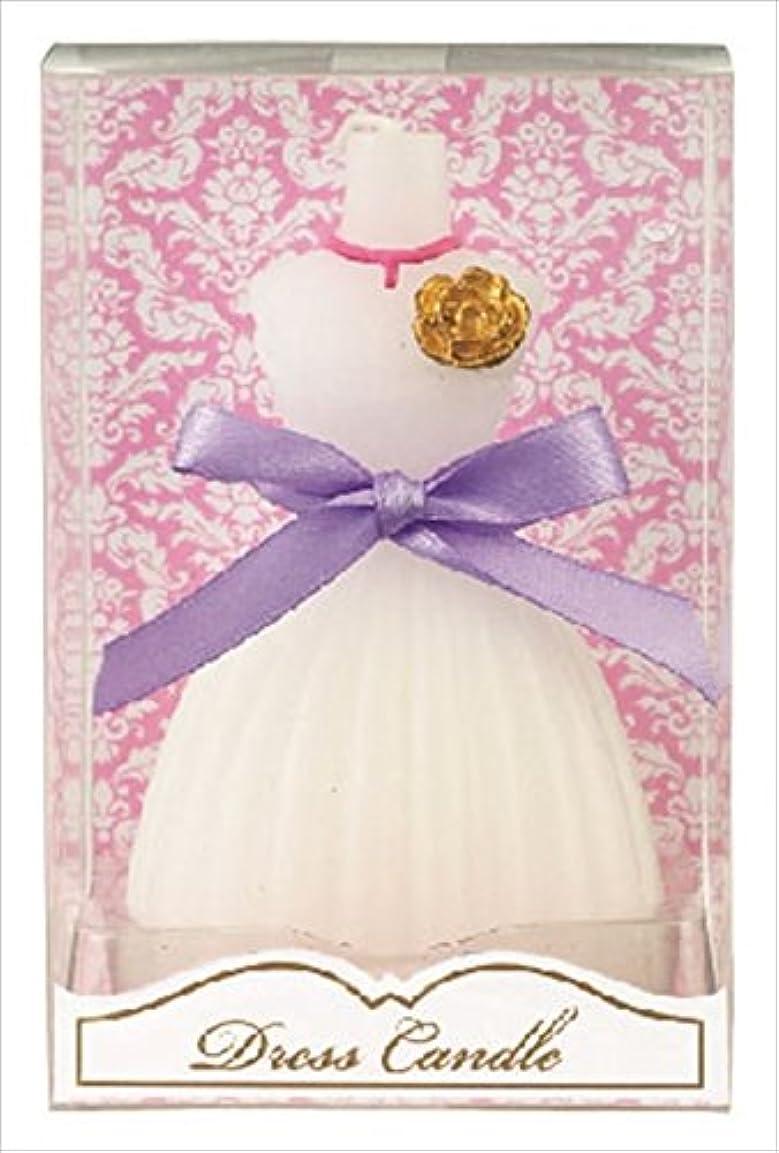 インフラ沿って座るkameyama candle(カメヤマキャンドル) ドレスキャンドル 「 ホワイト 」 キャンドル 60x54x98mm (A4460500W)