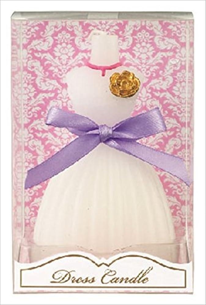 ライセンス仲人耳kameyama candle(カメヤマキャンドル) ドレスキャンドル 「 ホワイト 」 キャンドル 60x54x98mm (A4460500W)