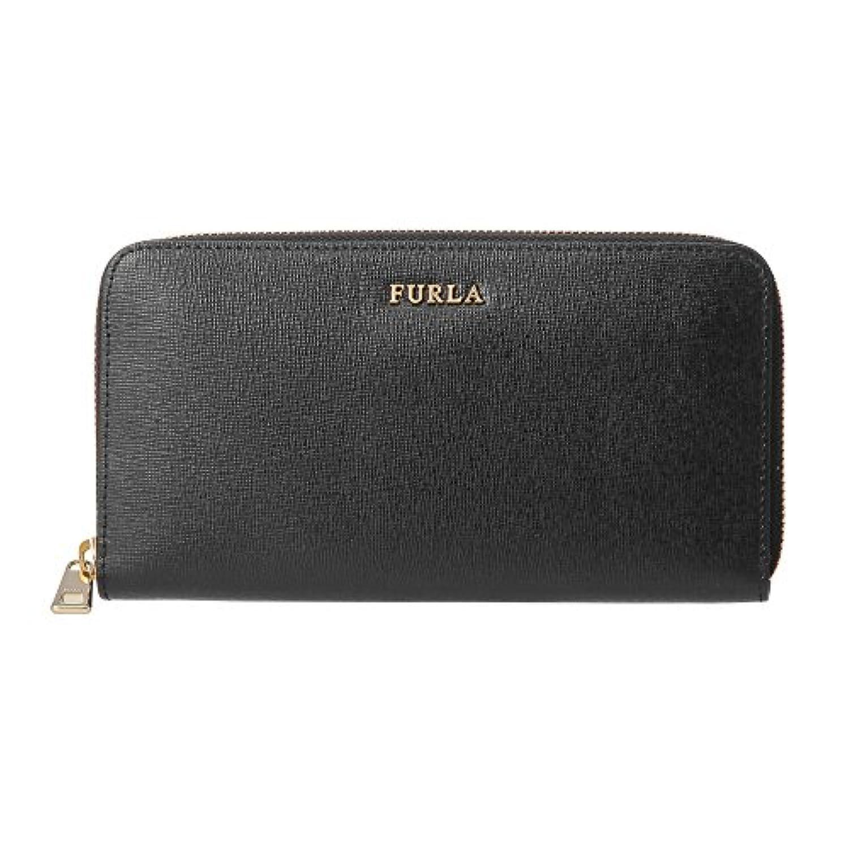 フルラ(FURLA) 長財布(ラウンドファスナー) PR82 B30 907853 バビロン ブラック 黒 [並行輸入品]