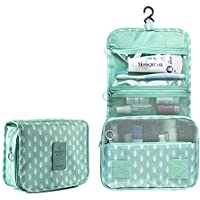 New Hanging Toiletry Bag Bathroom Organizer Travel Nylon Portable Cosmetic Bag for Women and Men