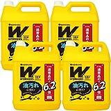 【まとめ買い】WORKERS 作業着専用洗い 液体洗剤 超特大 4500g×4個