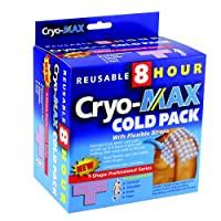 Cryo-MAX Professional Series Cold Pack, 8 hr reusable, 1 Box by Cryo-Max