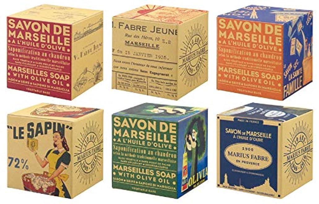 リングバック縫い目とにかくサボンドマルセイユ BOX オリーブ 200g (箱の柄のご指定はできません)