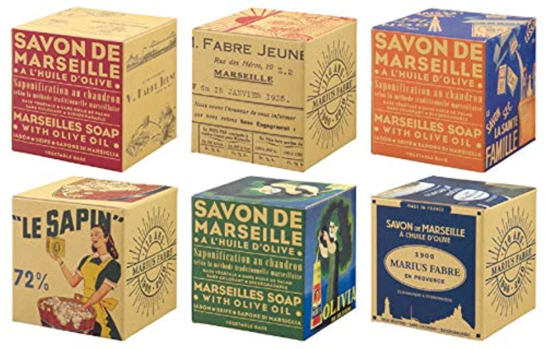植物のチューブ養うサボンドマルセイユ BOX オリーブ 200g (箱の柄のご指定はできません)